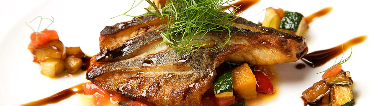 地魚と野菜のソテーバルサミコ風味