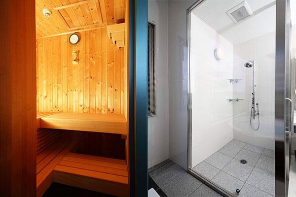サウナ・シャワー室
